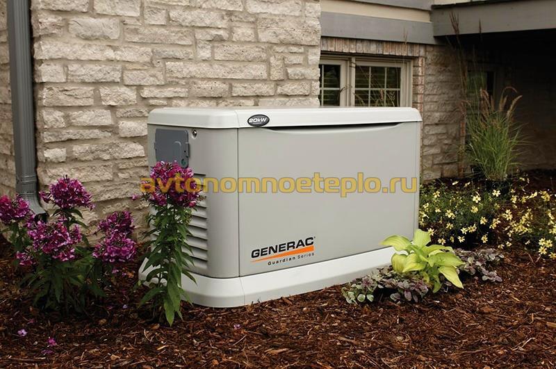 газовая электростанция generac для коттеджа