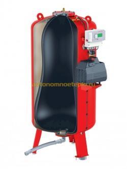 устройство расширительного бака системы отопления с грушевидной мембраной