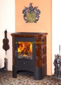 дровяная камин печь Бавария с изразцами