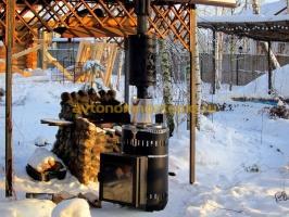 дровяная банная печка Ферингер
