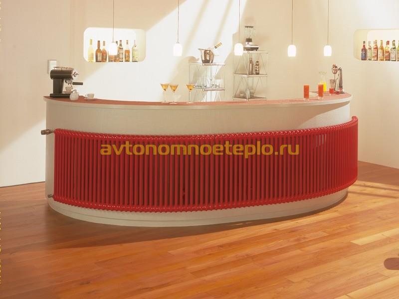 секционная радиусная батарея производства Arbonia