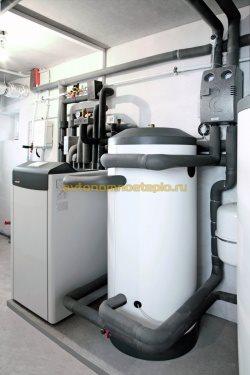 установленное геотермальное оборудование