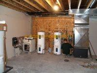 тепловое земляное оборудование установленное в доме