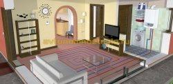 схема обогрева квартиры