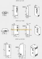 размеры электрокотлов Зота