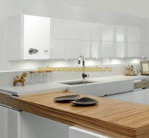 котел в кухонной мебели
