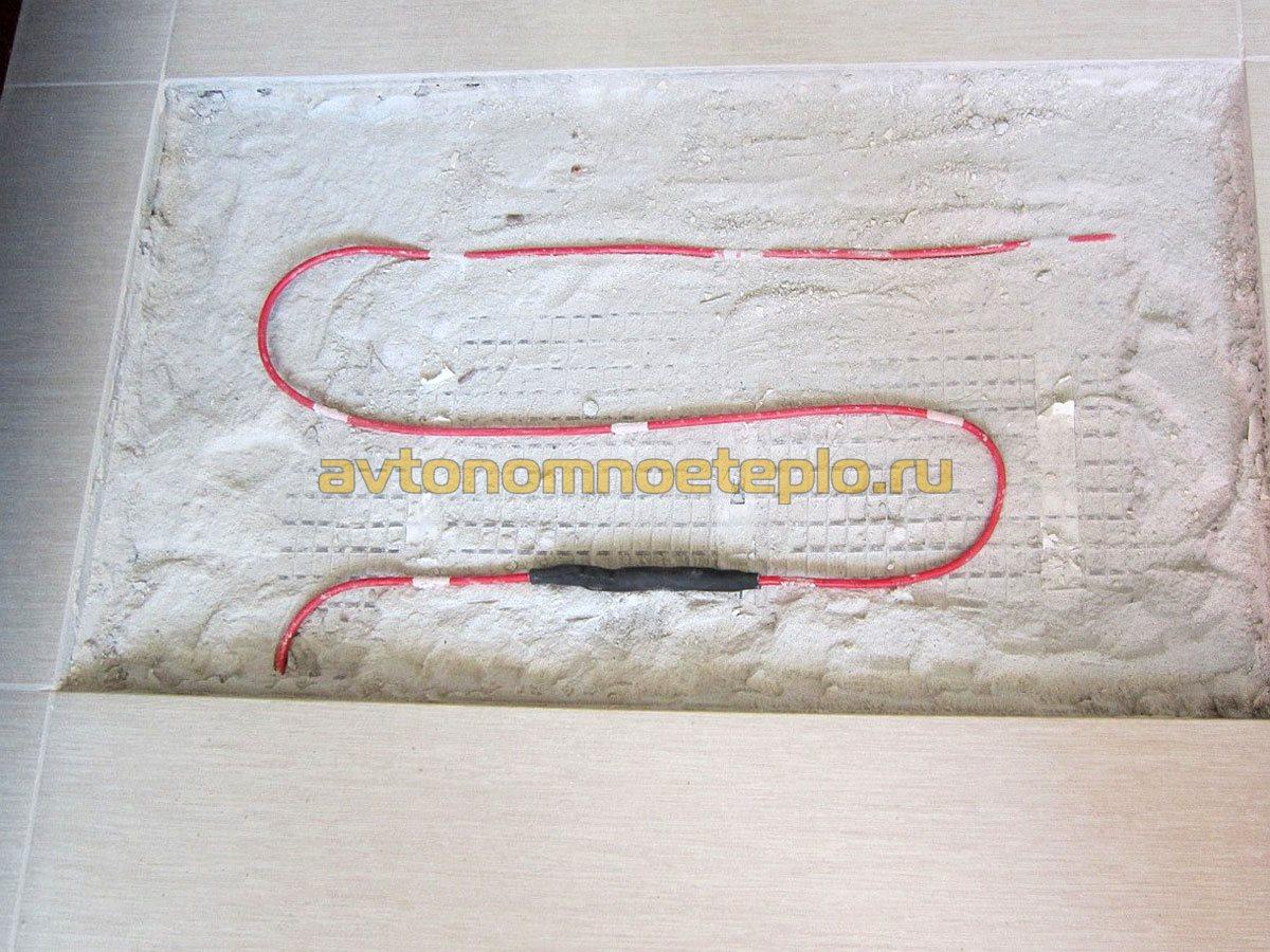 муфта на кабеле