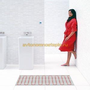 ванная с подогревом пола