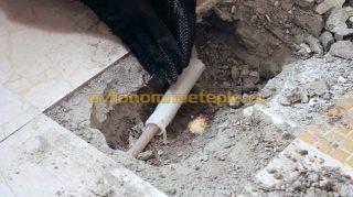 муфта обернутая для защиты от цемента