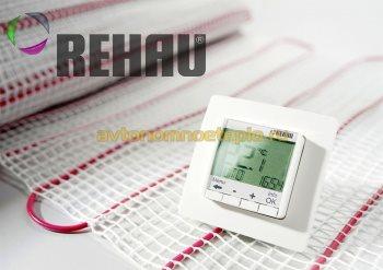 электрический пол Rehau
