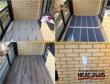 пол Heat Plus на балконе