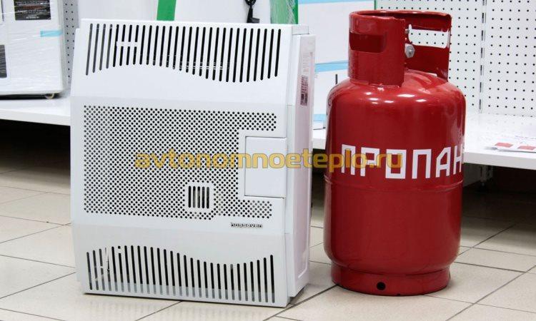 конвектор Hosseven на сжиженном газе