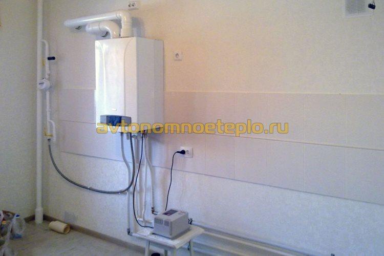 конденсационный котел запитанный через стабилизатор электросети
