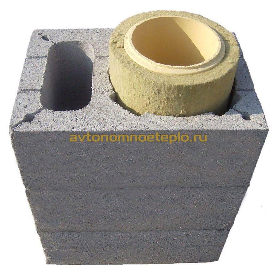 Блоки из керамзитобетона для дымохода бетон в румянцево истринского района купить