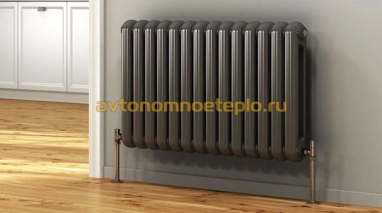 настенный биметаллический отопительный радиатор