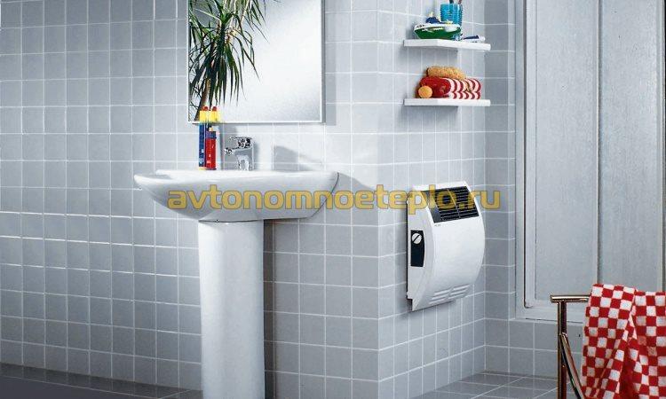 обогреватель Stiebel Eltron в ванной комнате