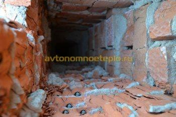 стенки канала кирпичного дымохода