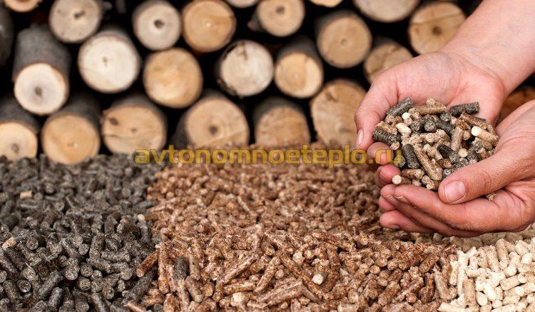 древесные пеллеты