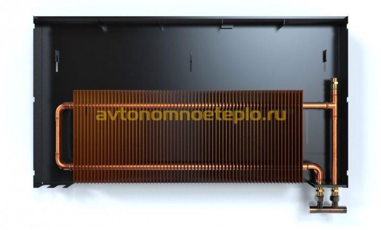 конструкция медного панельного радиатора