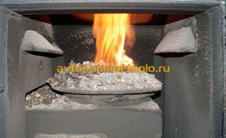 пеллетная горелка Benekov