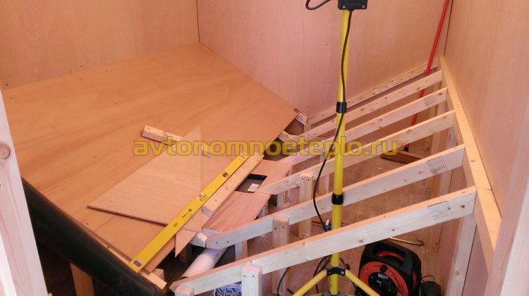 строительство хранилища для пеллет