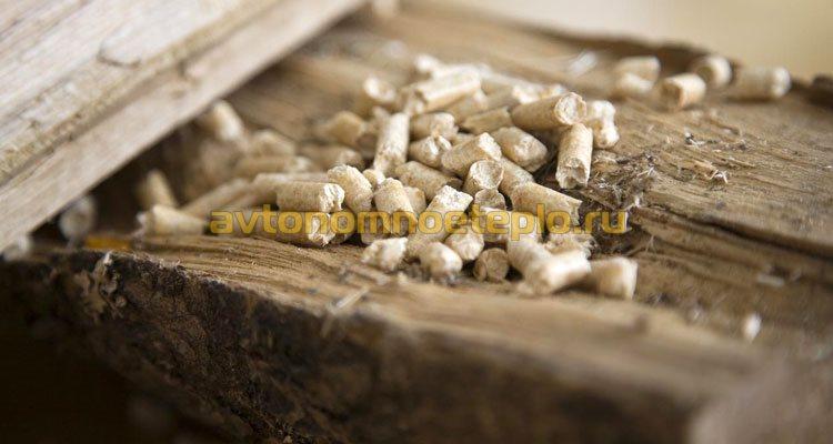 дрова и пеллеты