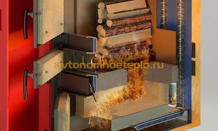 двухтопочная камера сгорания