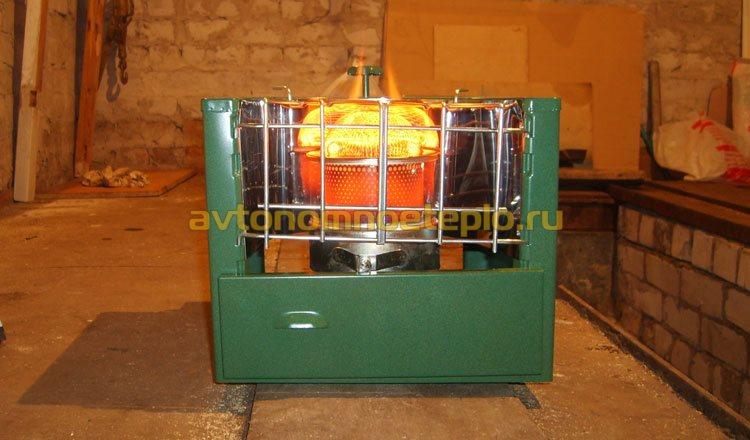 газовый гаражный ИК прибор обогрева