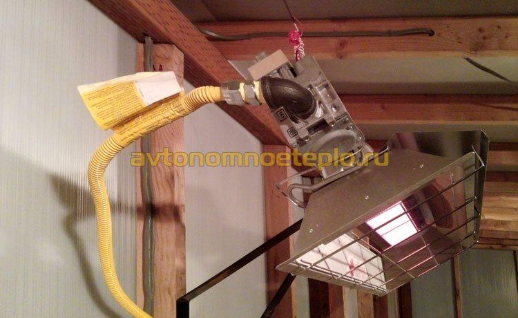 настенные ИК прибор работающий на газе