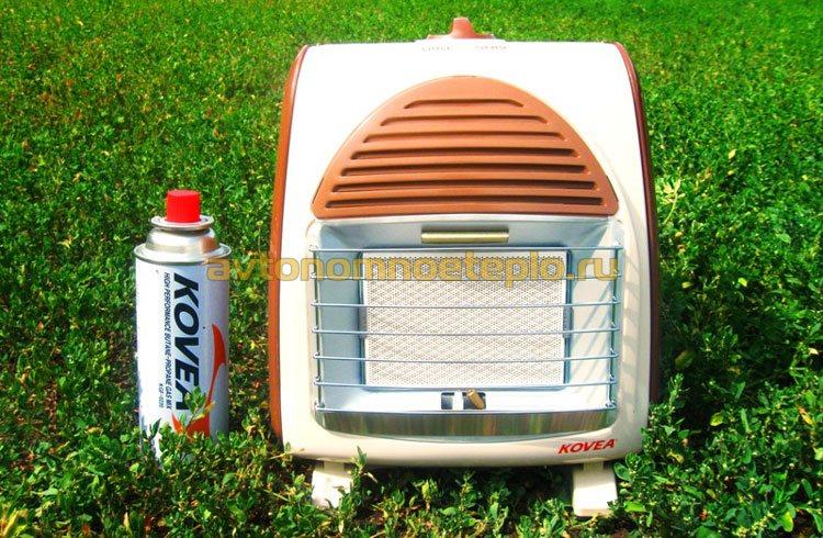 компактный газовый ИК обогреватель