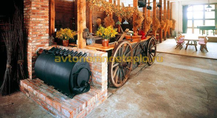 печка на дровах Булерьян
