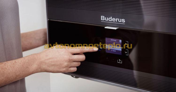 панель управления Buderus