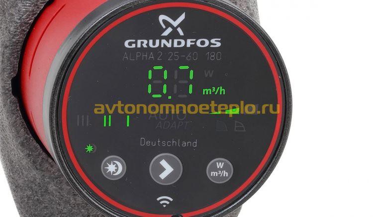 насос Grundfos серии 25 60
