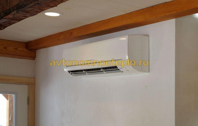 внутренний блок теплонасоса системы воздух-воздух