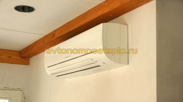 внутренний блок теплонасоса воздушного типа