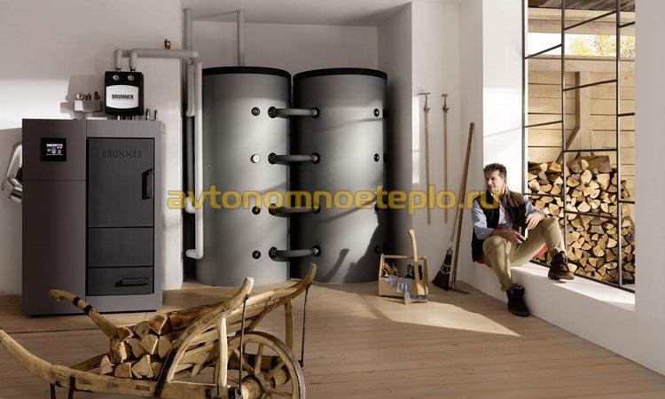 дровяной котел европейского производителя