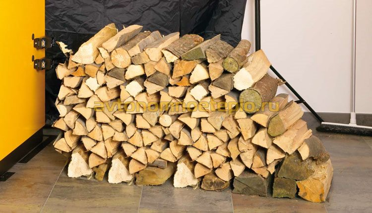 дрова для битопливного котла