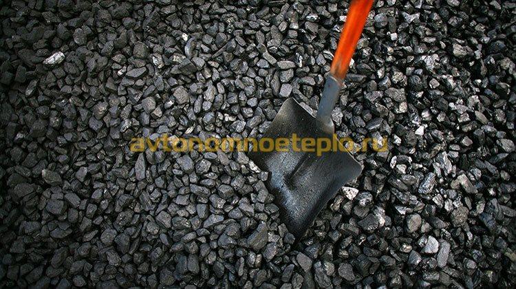 уголь для парового котла