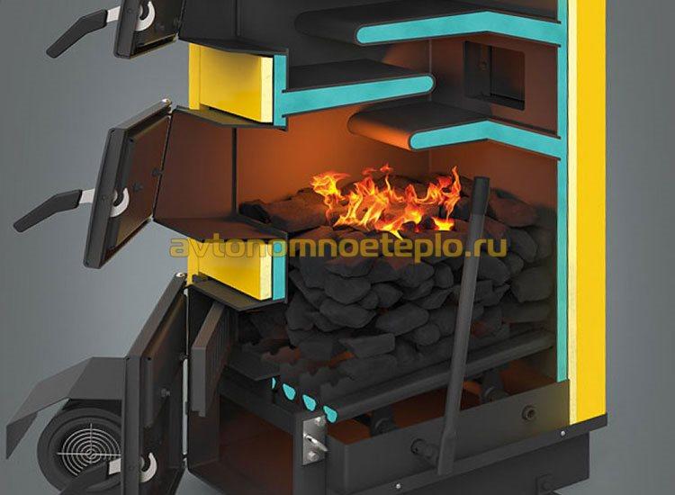 принцип горения угля