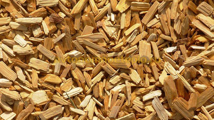 древесная щепа