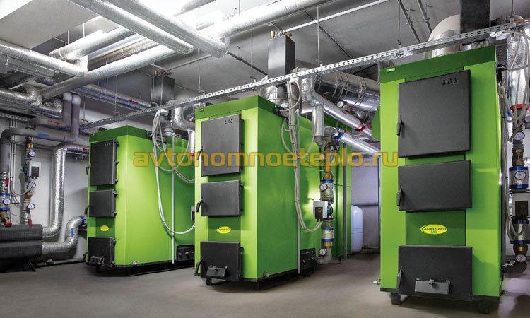 промышленные котлы большой мощности под сжигание твердого топлива