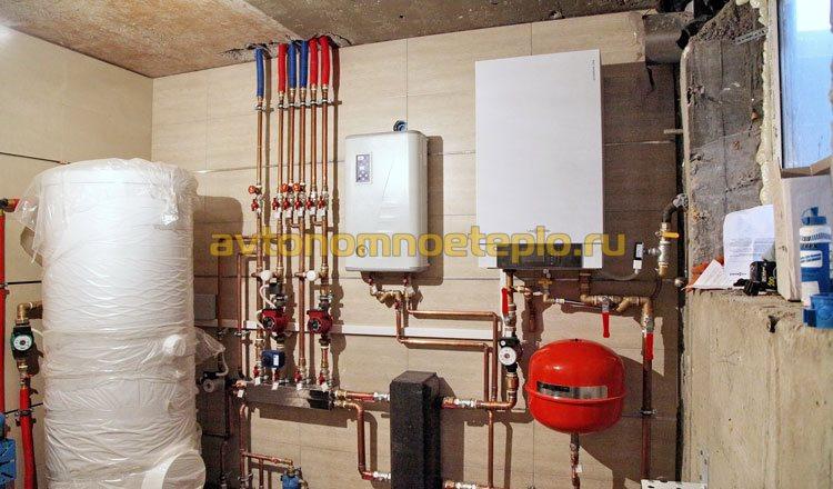 эксплуатация котлов под газ и электричество