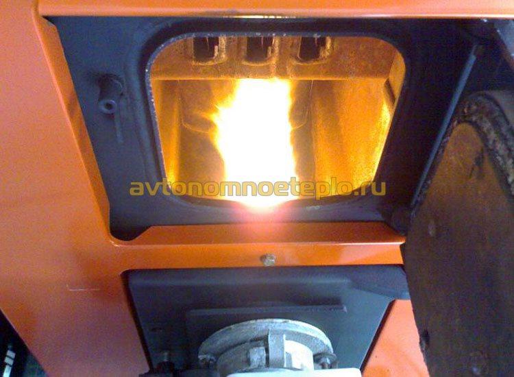 горение жидкого топлива