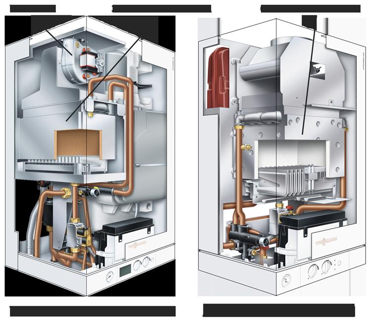 сравнение устройства турбо и атмо котлов
