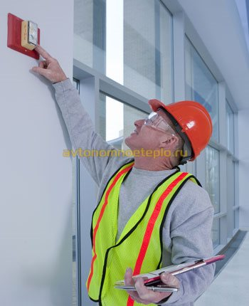 проверка системы пожаротушения