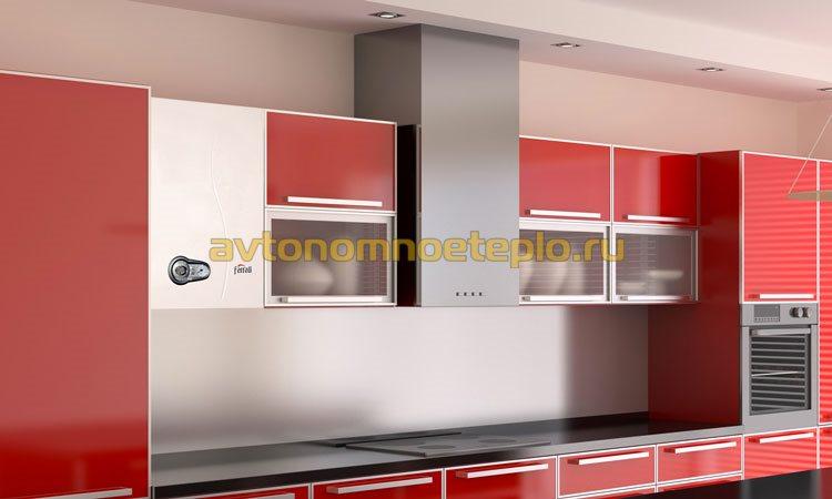 ТЭНовый электрокотел в интерьере кухни