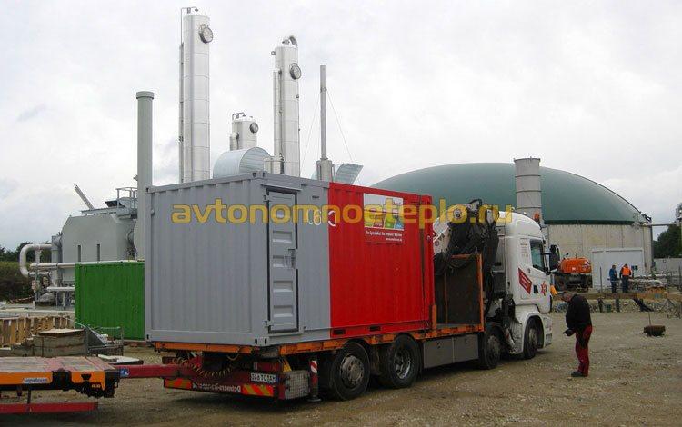 дизельная БМК в контейнерном исполнение
