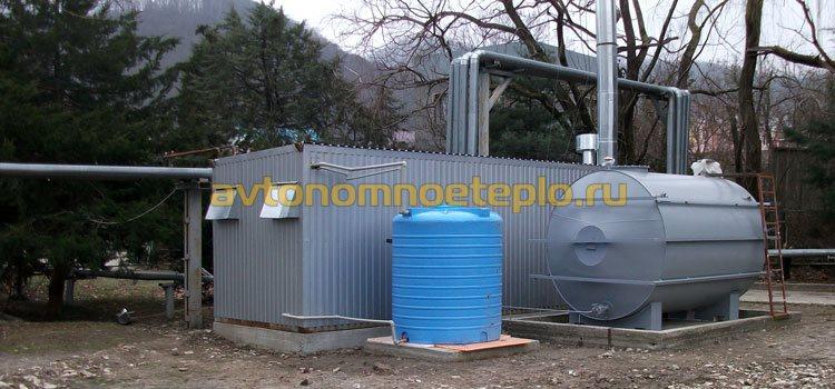 контейнерная БМК на жидком топливе