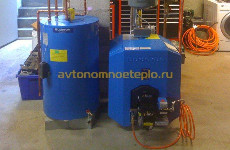 использование отработки в отопление
