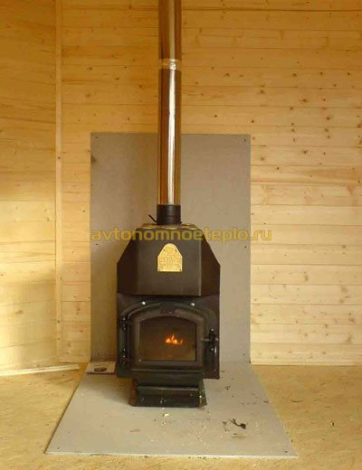 печка для обогрева дачного домика